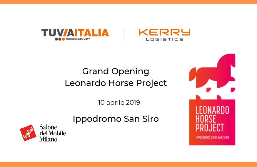 grand opening leonardo project horse