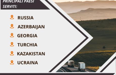 spedizioni internazionali via camion