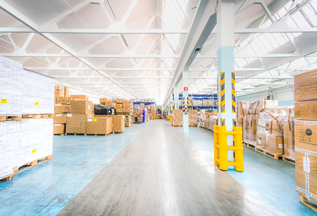 magazzino doganale bonded warehouse