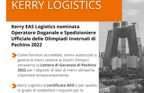 Kerry Logistics Olimpiadi Pechino